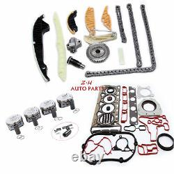 Engine Overhaul Rebuild Kit & Piston 23mm Fit For VW Golf Jetta AUDI Skoda Seat