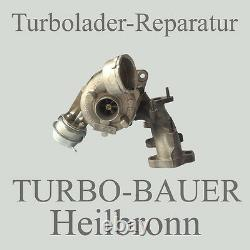Turbolader Reparatur Inkl. Material VW EOS 16V 2,0 Tdi 1968 ccm 103 KW 140 PS