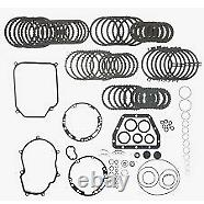 VW01M, MASTER REBUILD KIT WithTOP QUALITY OVERHAULT KIT/FRICTIONS/STEELS