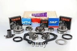 Vag T5 02z 5 Speed Pro Gearbox Bearing Rebuild Repair Kit With Seals & Gaskets