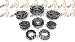 Volkswagen T5 Transporter 0a5 6speed Gearbox Bearings And Seals Rebuild Kit Vw